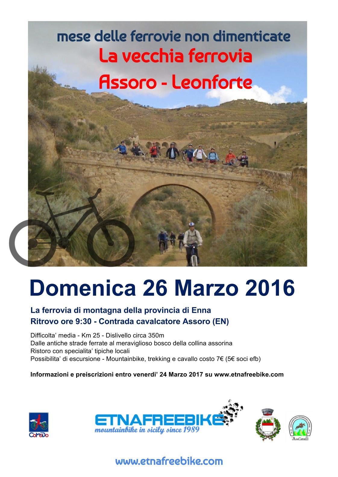 Ferrovie non dimenticate 2017- Sicilia